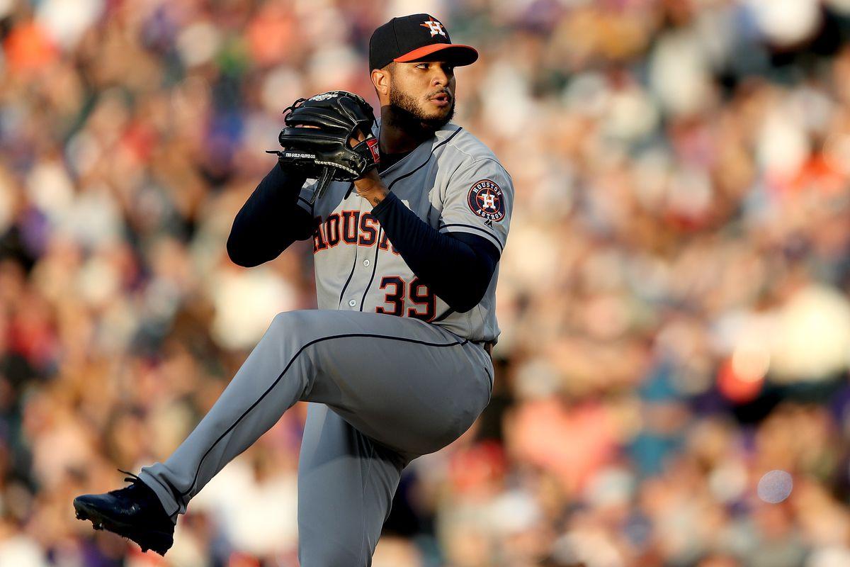 Houston Astros v Colorado Rockies