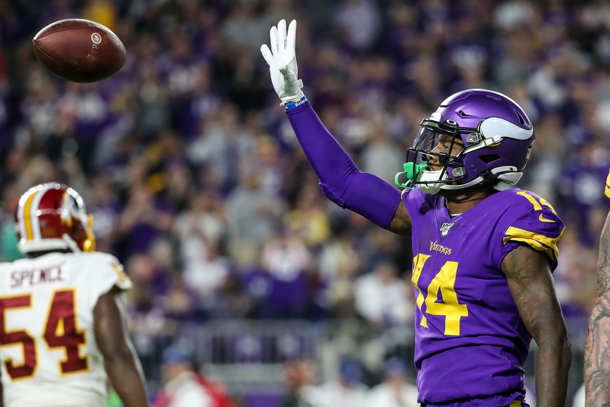 Stefon Diggs now with the Buffalo Bills