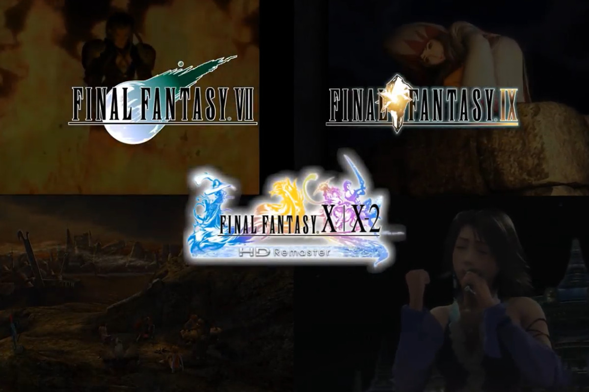 Final Fantasy VII and other classic Square RPGs are coming