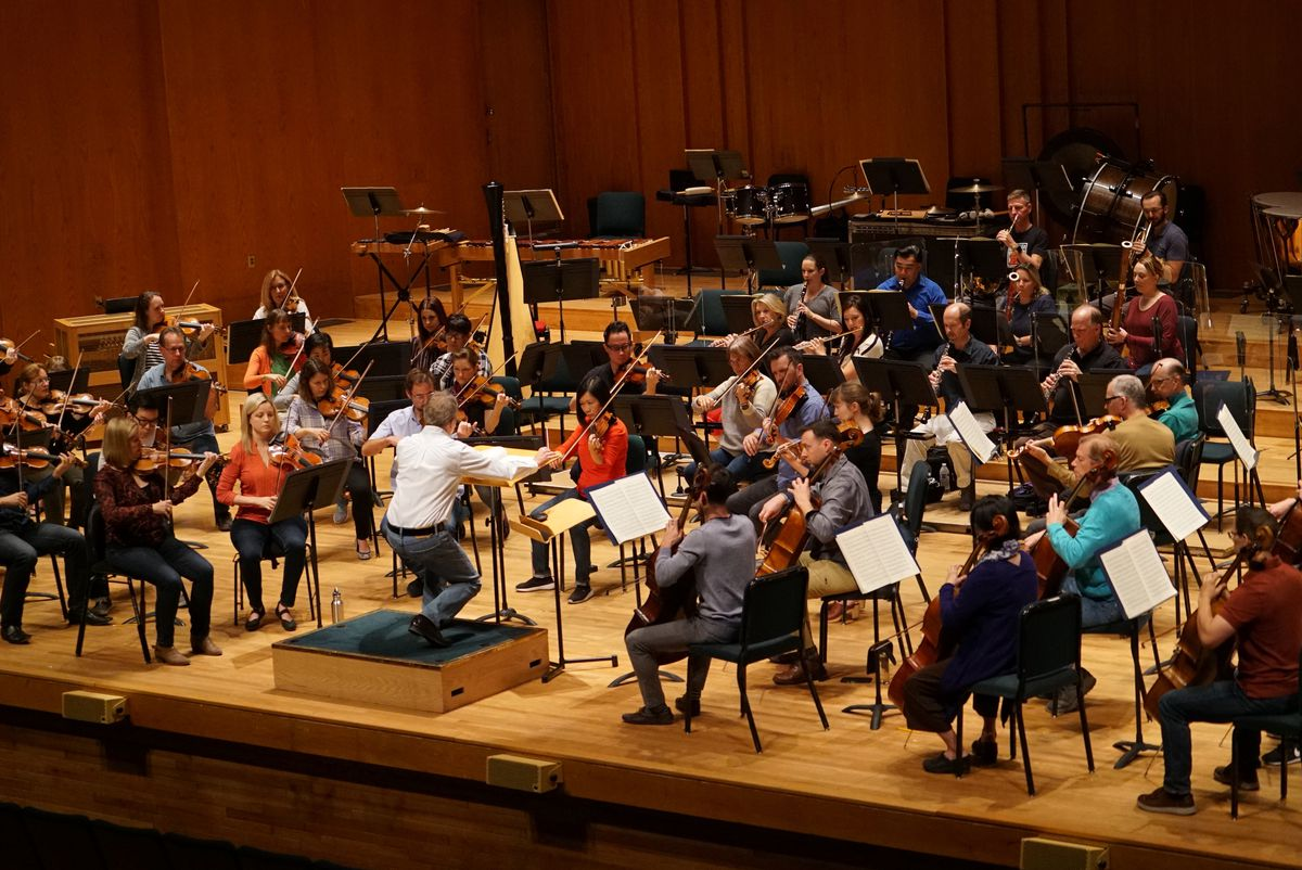 """On March 23, 2019, members of the Utah Symphony swapped tuxes and dresses for jeans as part of the symphony's new casual concert series, """"Unwound."""""""