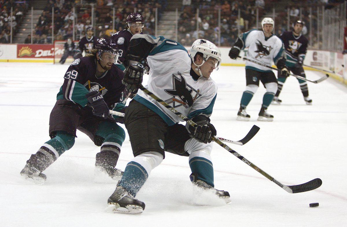San Jose Sharks v Anaheim Mighty Ducks