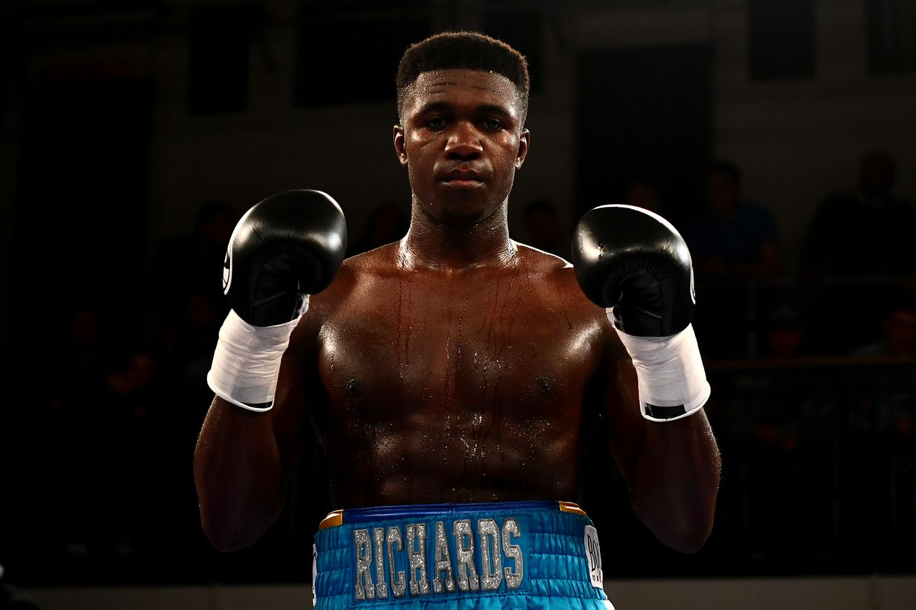 645021874.0 - Richards jumps to Matchroom, signing multi-fight deal