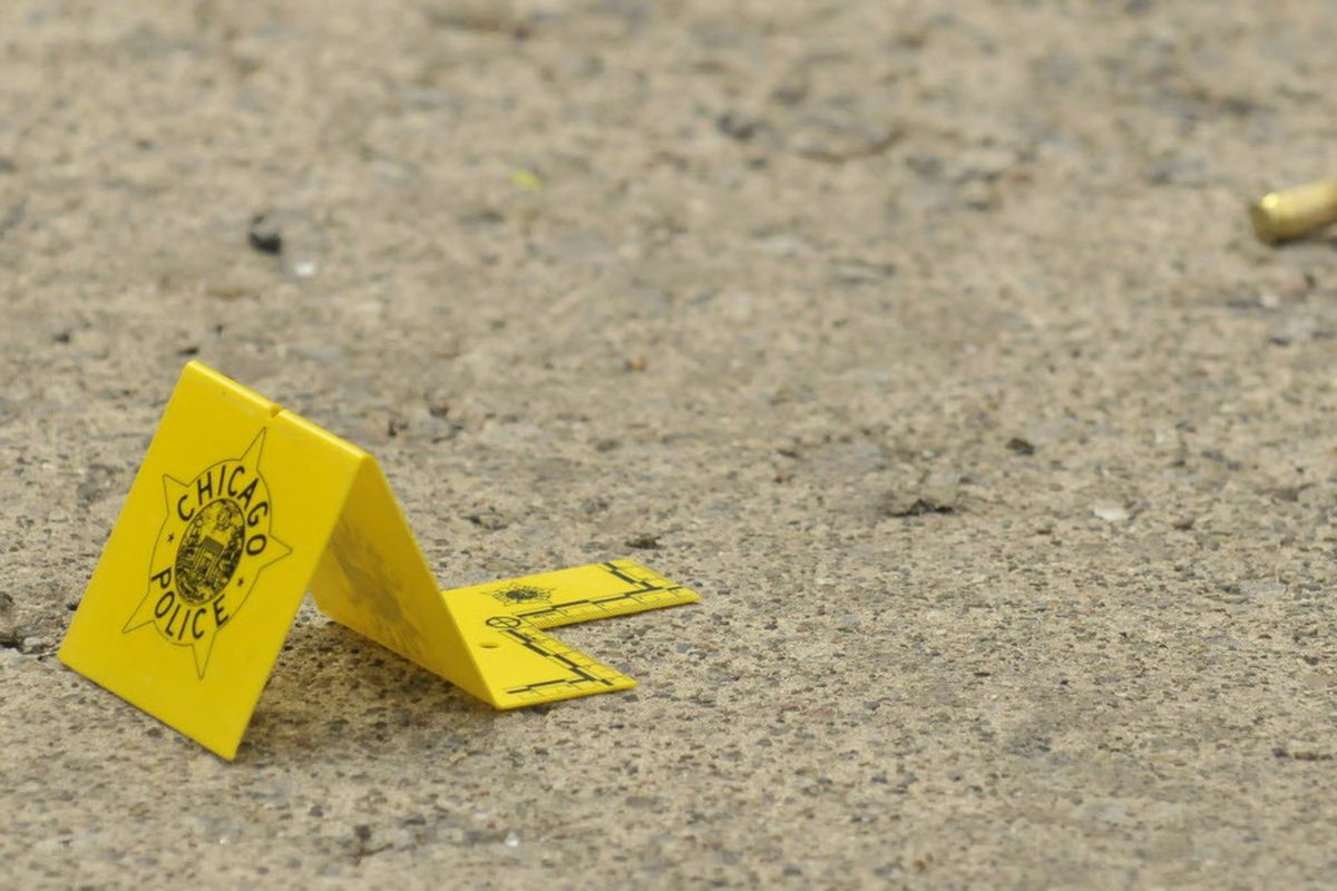 Four people were shot, one of them fatally, March 10, 2020, in Chicago.