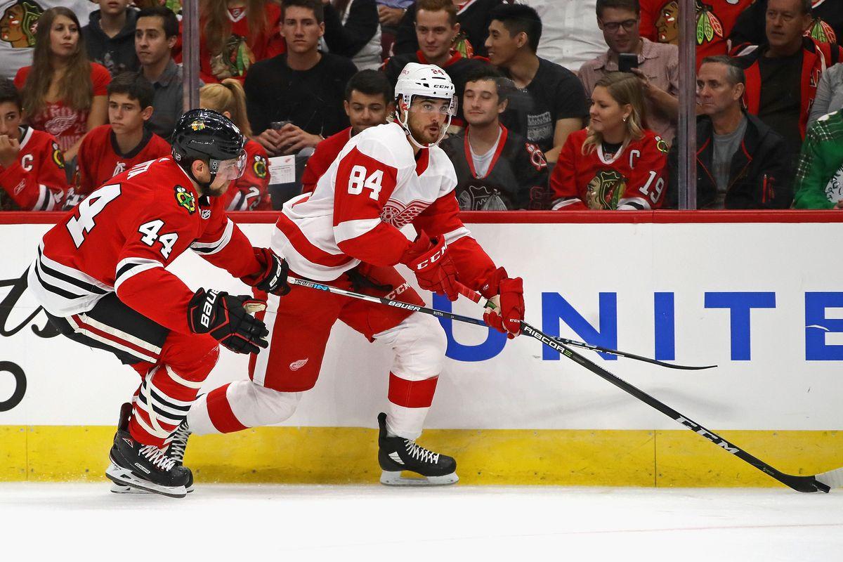Detroit Red Wings v Chicago Blackhawks
