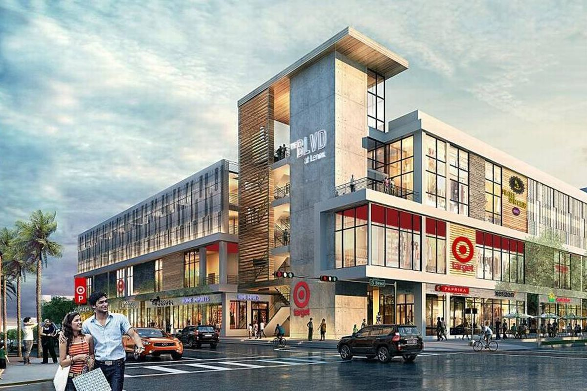 miami beach is getting its first target curbed miami