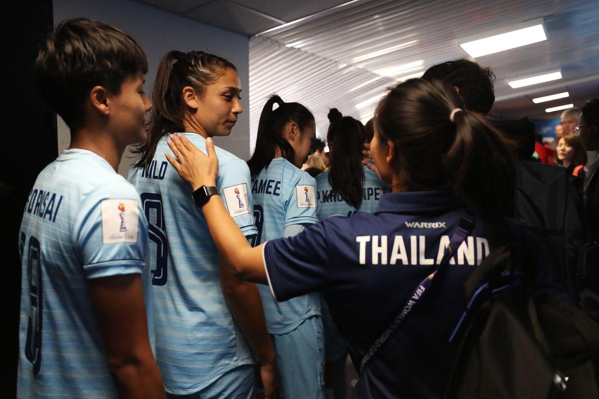 泰国vs智利:2019女足世界杯F组-法国