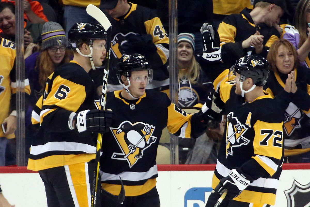 c770f1c9b22 Penguins Avalanche Recap  Horny Hat Trick on Hat Giveaway night powers Pens