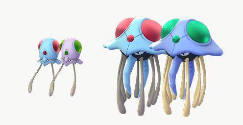 Image result for shiny tentacool in pokemon go
