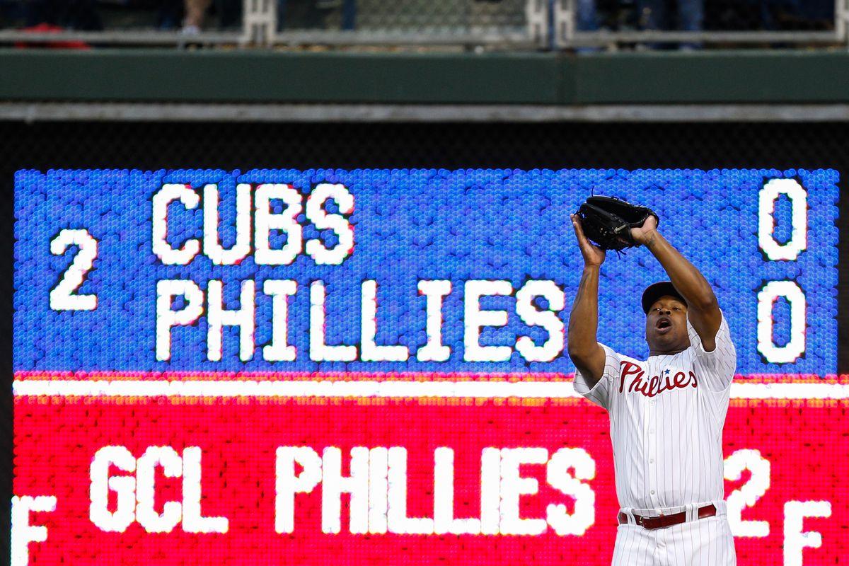 Chicago Cubs v Philadelphia Phillies