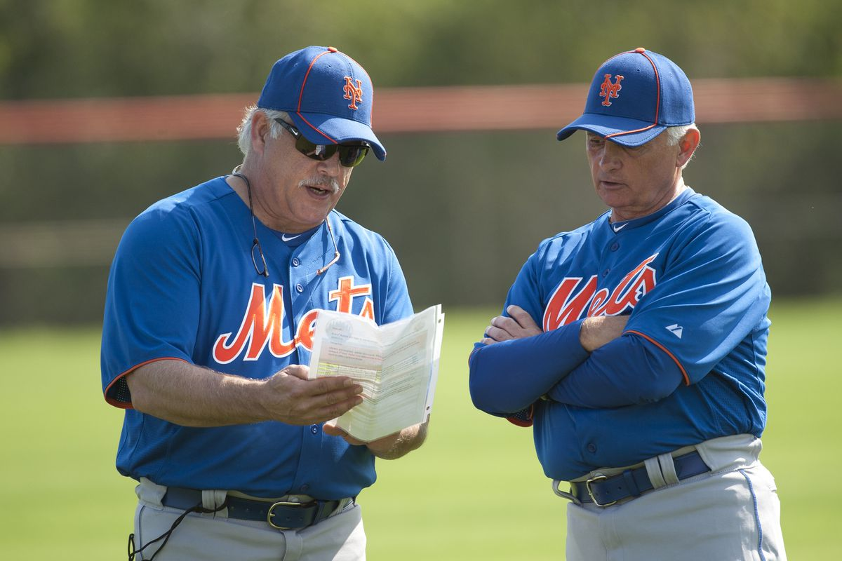 Wally Backman and Terry Collins