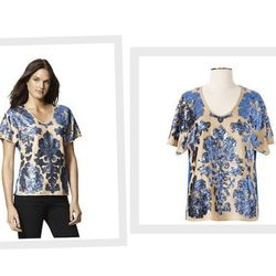 """From the Target/Neiman Marcus x CFDA collab, the <a href=""""http://www.target.com/p/tracy-reese-blouse/-/A-14206607#prodSlot=medium_1_34"""">Tracy Reese Blouse</a> ($39.99)."""
