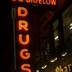 Bigelow Chemists, 6th Avenue at W 9th Street