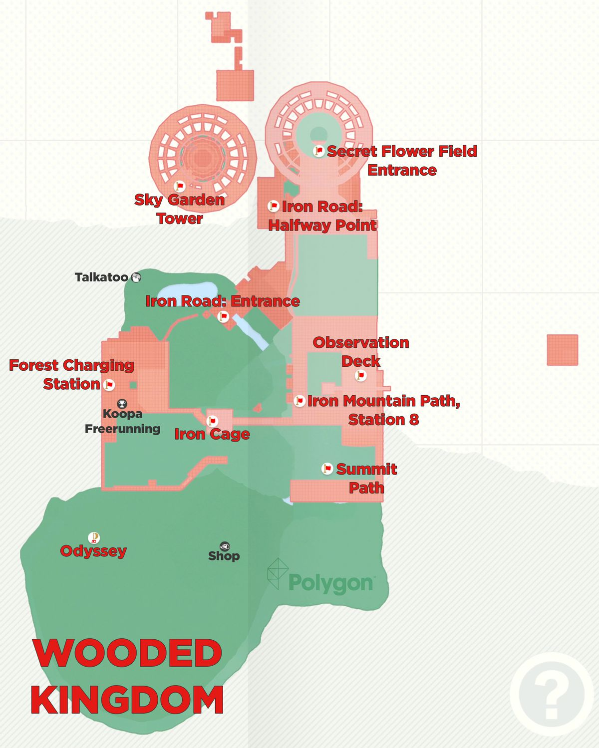 Super Mario Odyssey guide: Wooded Kingdom all power moon locations