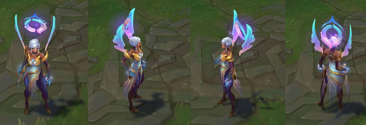 Dawnbringer Karma's in-game model