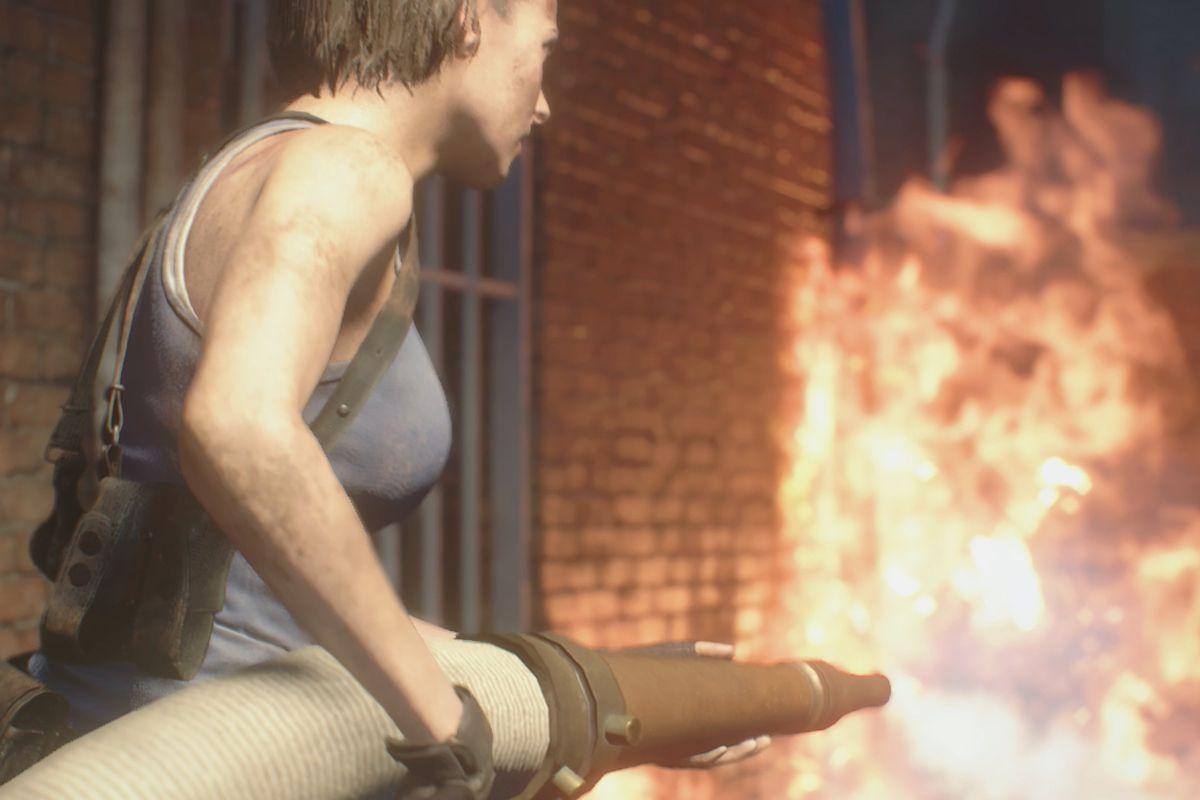Resident Evil 3 Downtown streets walkthrough