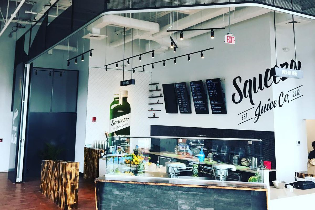 Squeeze Juice Co. at Assembly Row