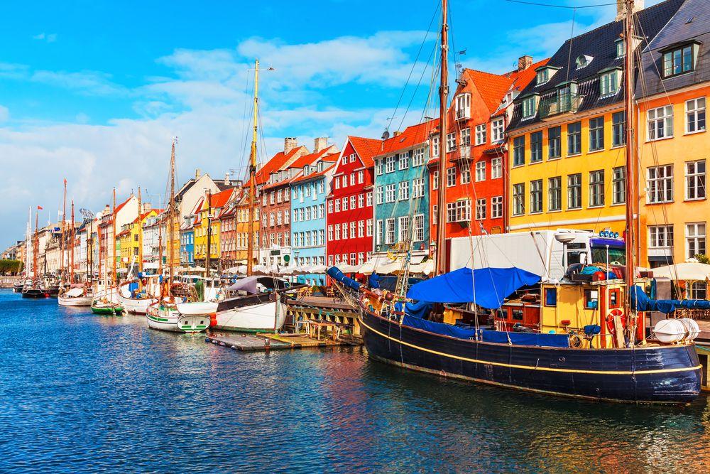 Nyhavn, Denmark. Isn't it cute?
