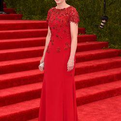 Marissa Mayer in Oscar de la Renta
