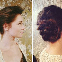 """""""The trend for this season is definitely soft and effortless beauty. Your style doesn't have to be the """"typical wedding up do."""" There are no rules when it comes to your hair on the big day. I try to guide my brides to live outside the box a little and I l"""