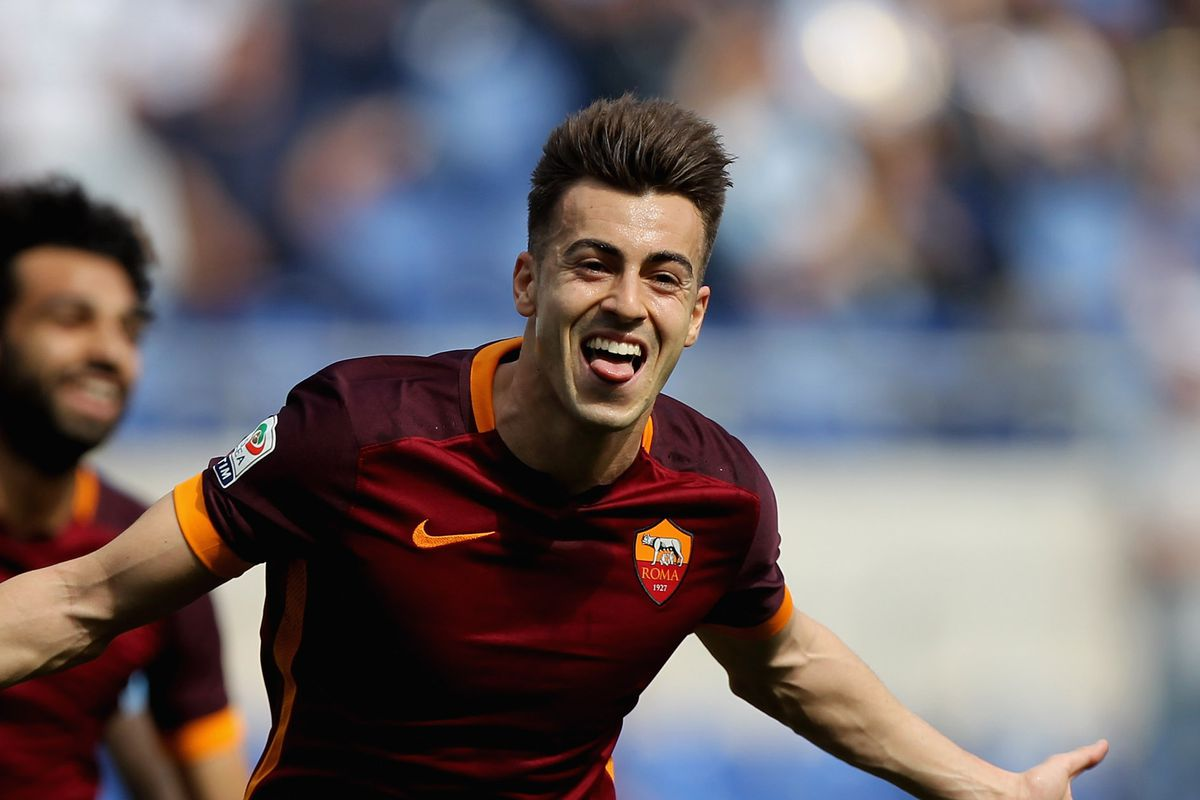 Excellent Stephan El Shaarawy Romas Best U 23 Player Chiesa Di Totti Short Hairstyles Gunalazisus