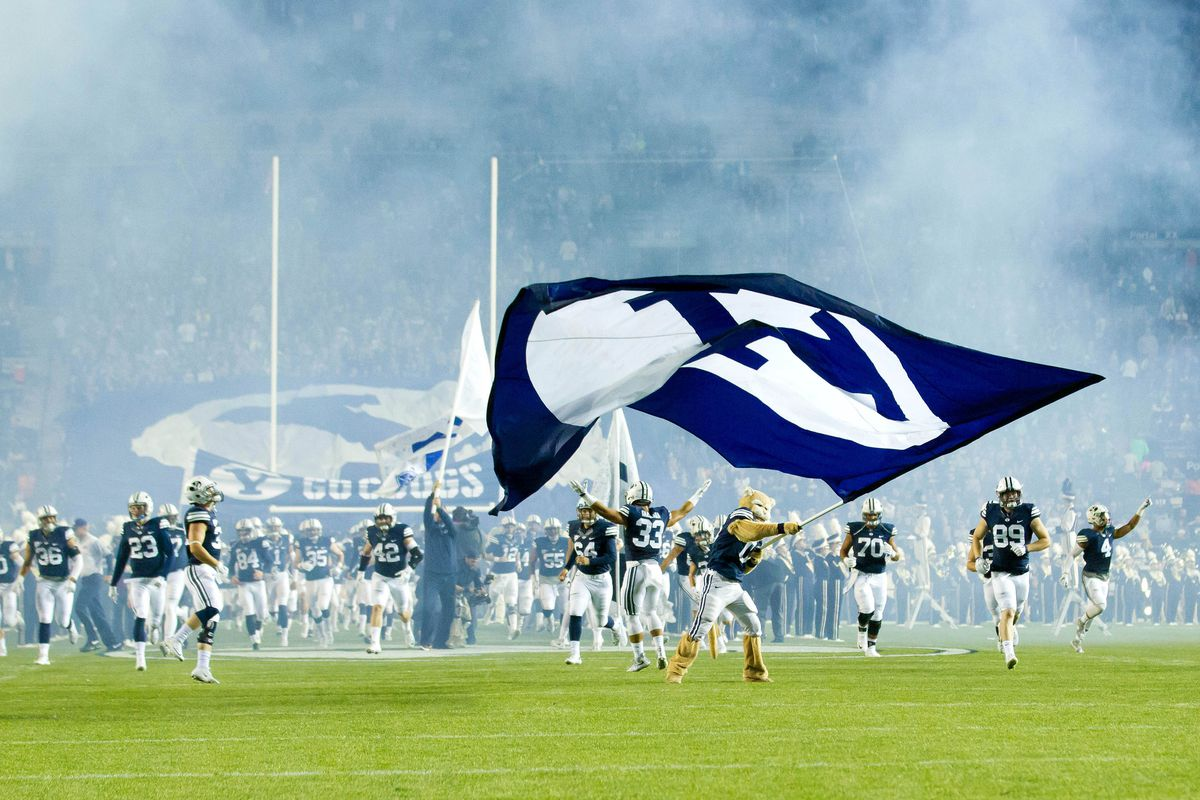 NCAA Football: Connecticut at Brigham Young