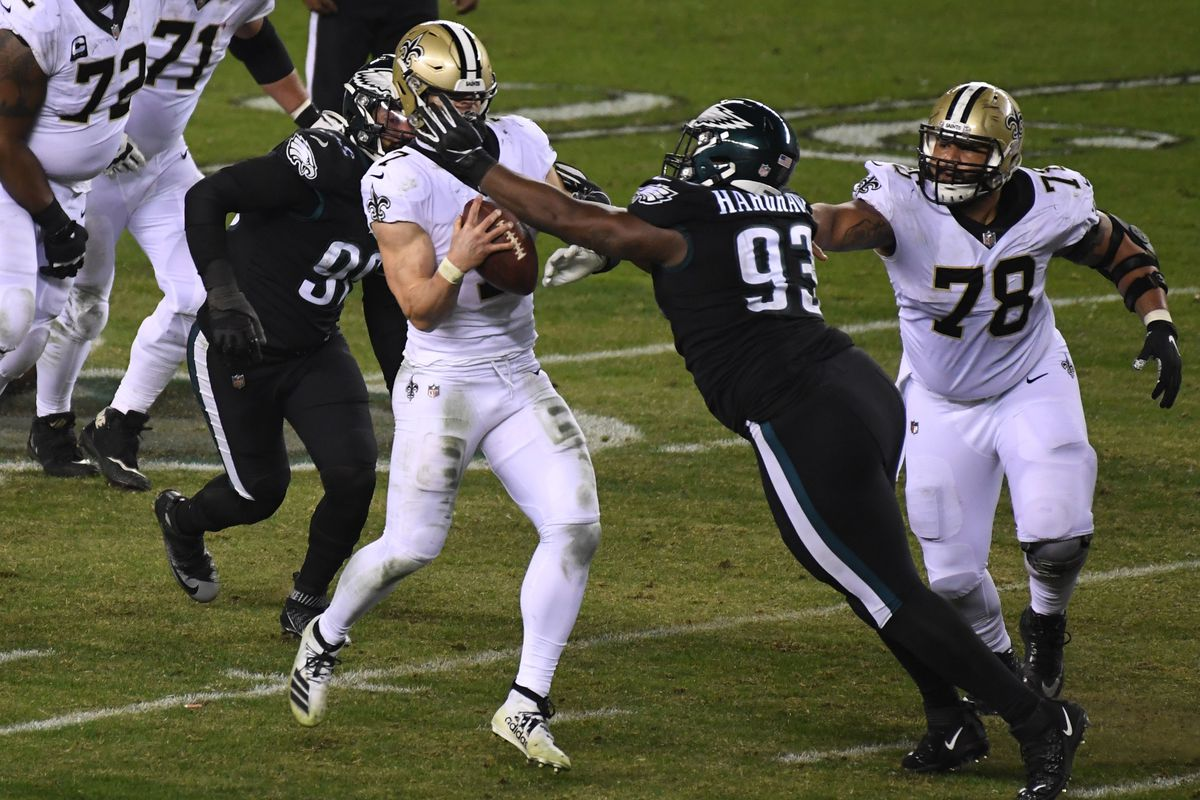 NFL: New Orleans Saints at Philadelphia Eagles