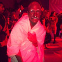 Teen Wolf's Colton Haynes as Gandhi
