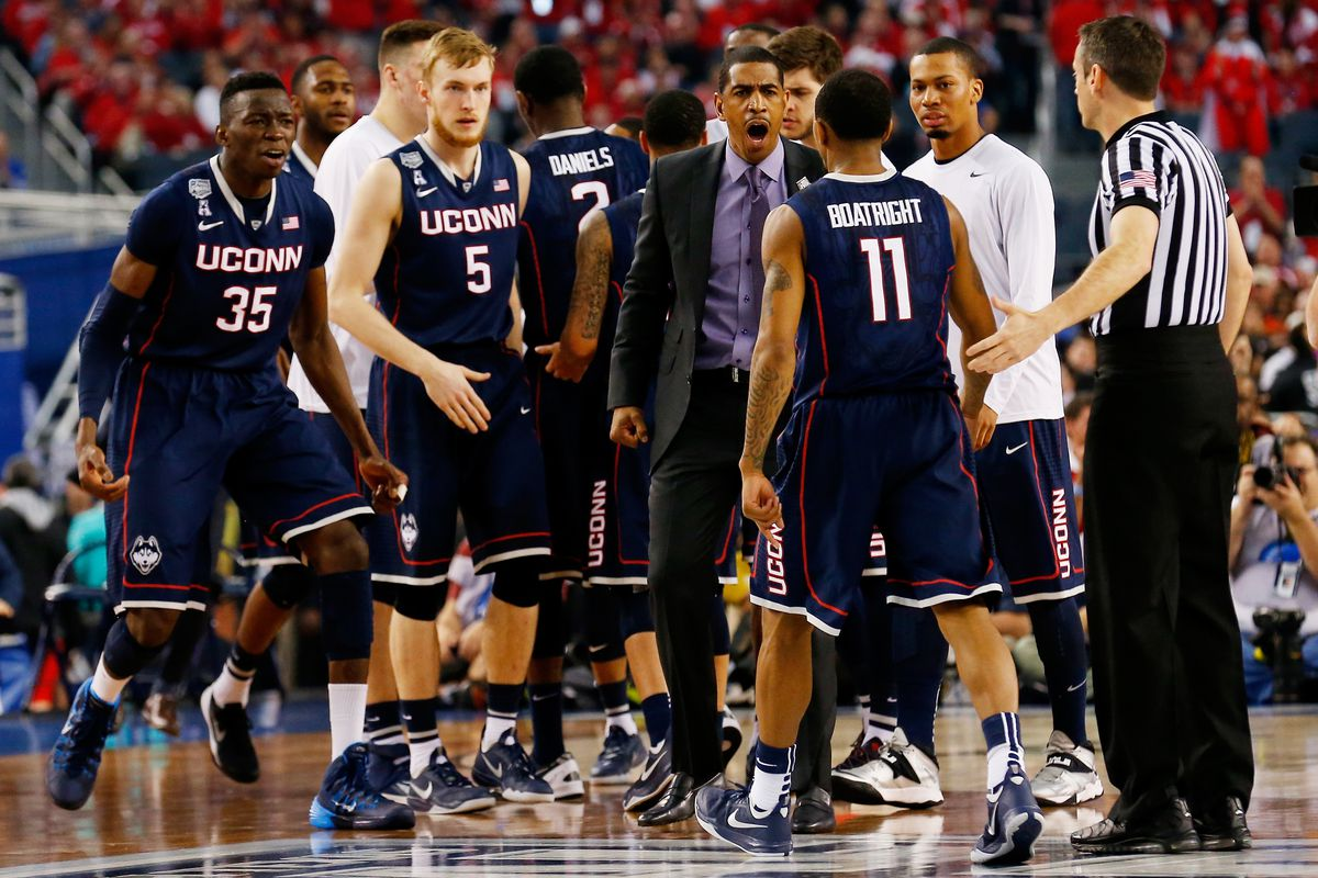 The UConn men's basketball team is in the national championship game, but unlike the women's team, they weren't picked by many to make it this far.