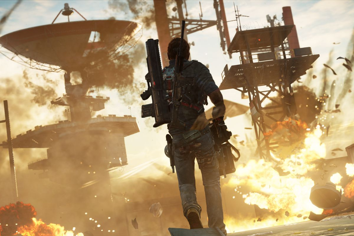 Just Cause 3 explosion screenshot 1920