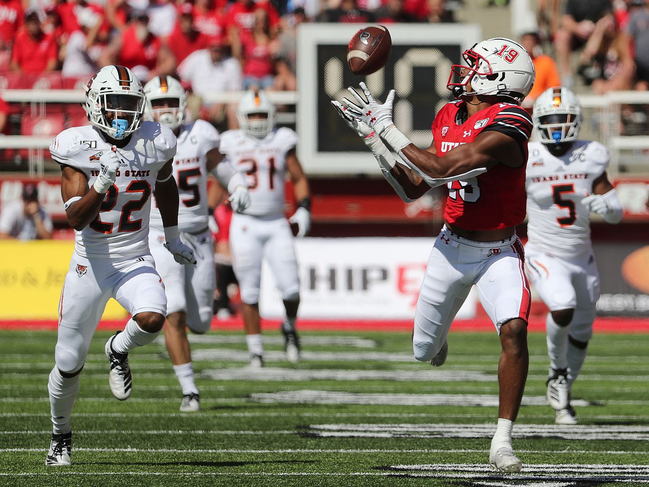 Healthy again, Ute receiver Bryan Thompson looking forward to playing in his old neighborhood at USC