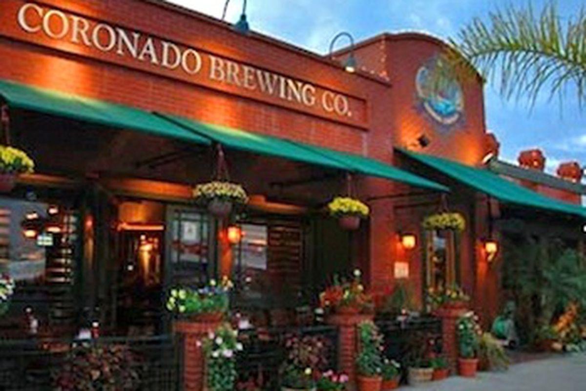 Coronado Brewing Company Food Menu