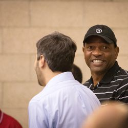 Doc Rivers is constantly smiling