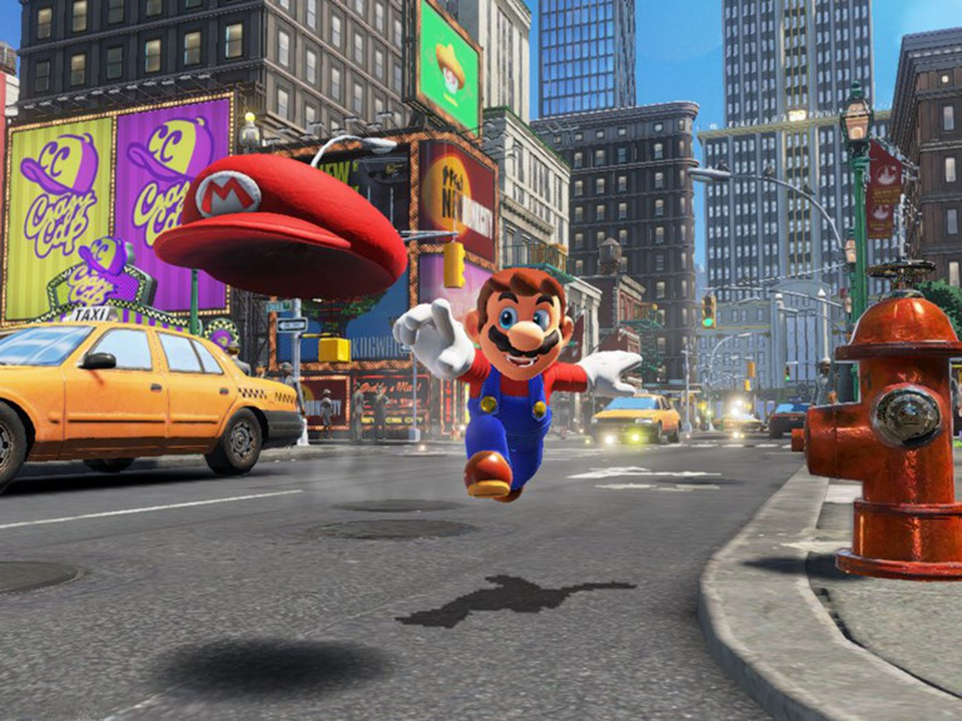 Super Mario Odyssey Is Big Complex And Surprisingly Hard The Verge