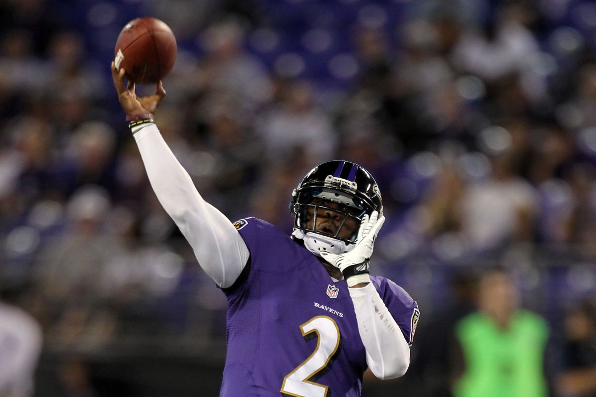 Tyrod Taylor told WNST his relationship with Jim Caldwell has contributed to his recent success.