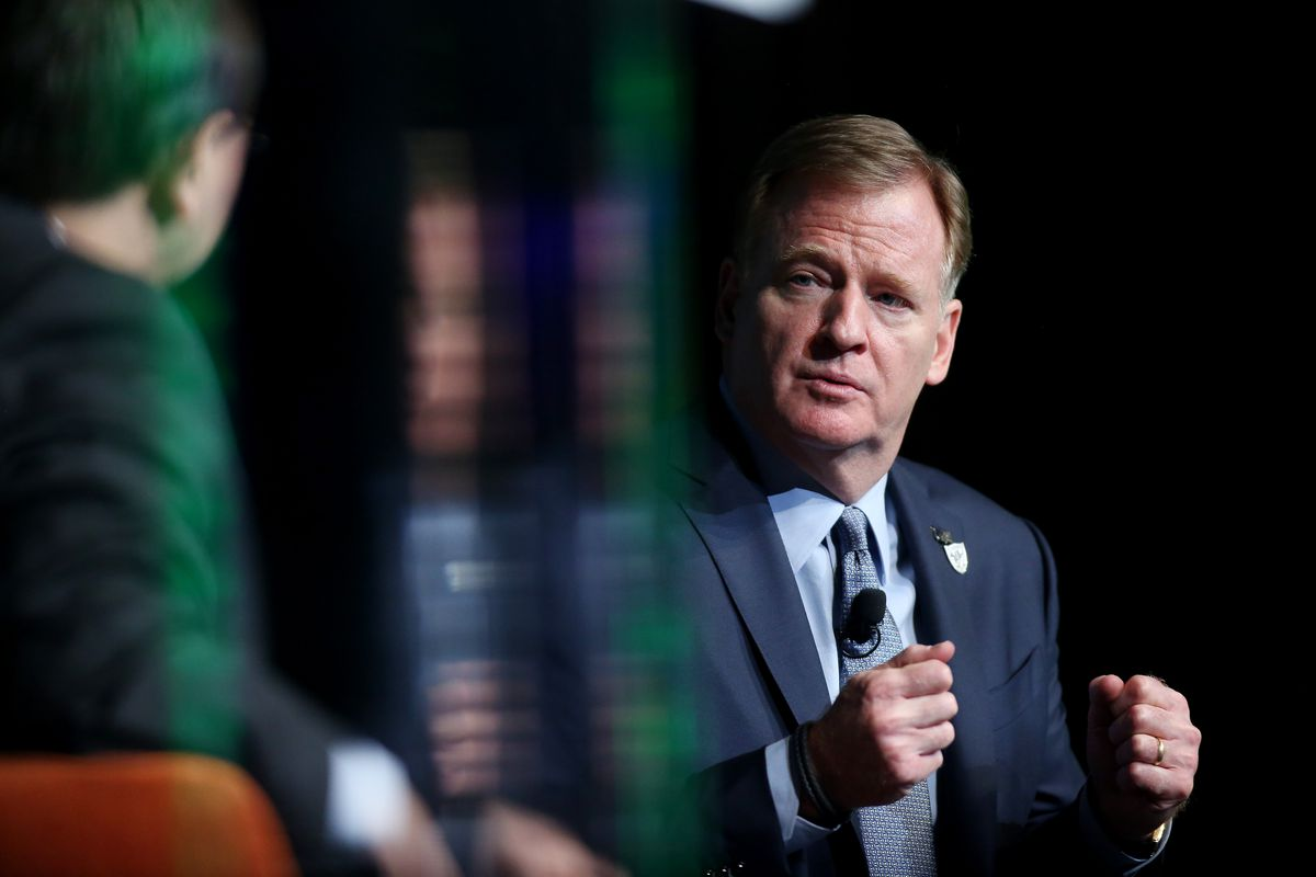 Roger Goodell Speaks At Preview Las Vegas Business Event