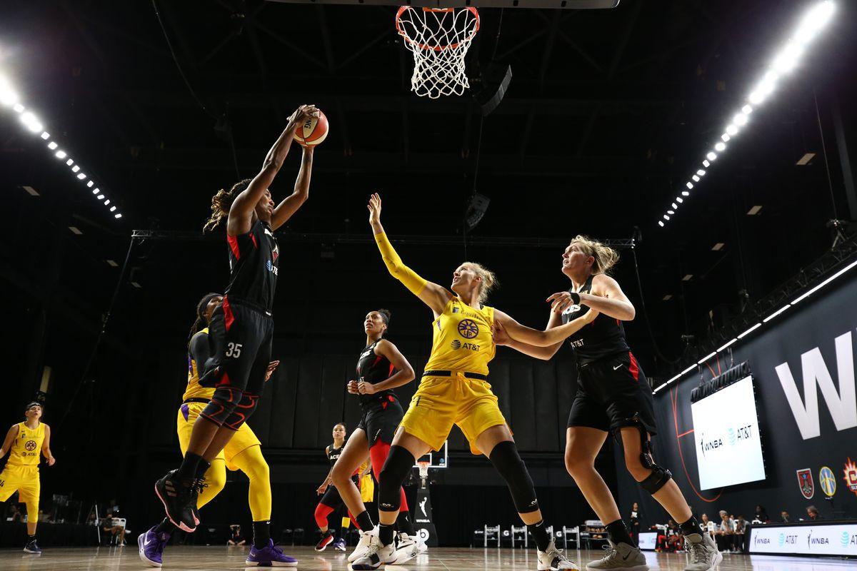 Los Angeles Sparks v Las Vegas Aces