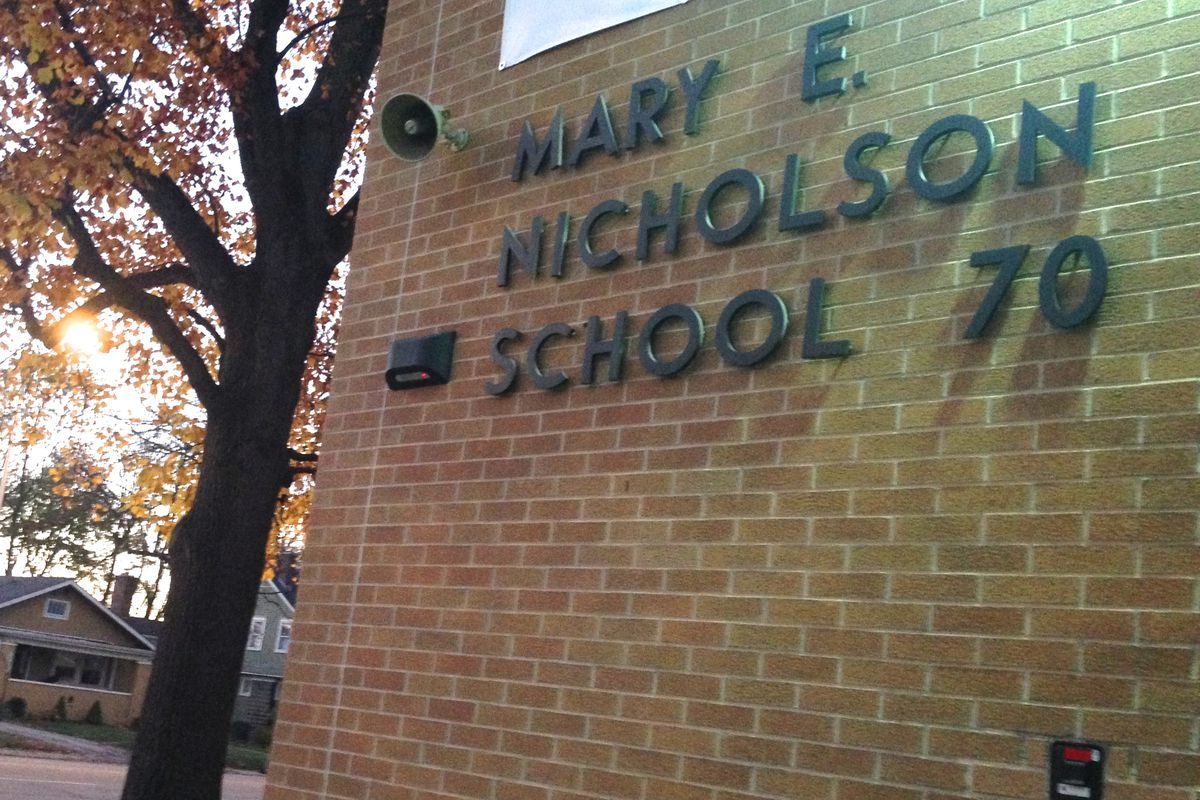 School 70 could move to a new building and add grades next year.