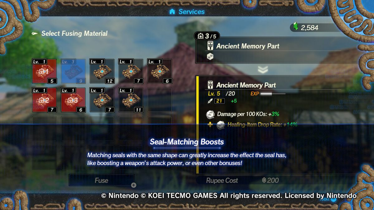 Should You Fuse Or Sell Weapons In Hyrule Warriors Age Of Calamity Polygon