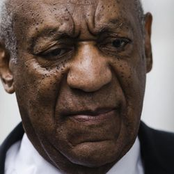 Bill Cosby arrives for his sexual assault trial at the Montgomery County Courthouse in Norristown, Pa., Saturday, June 17, 2017.