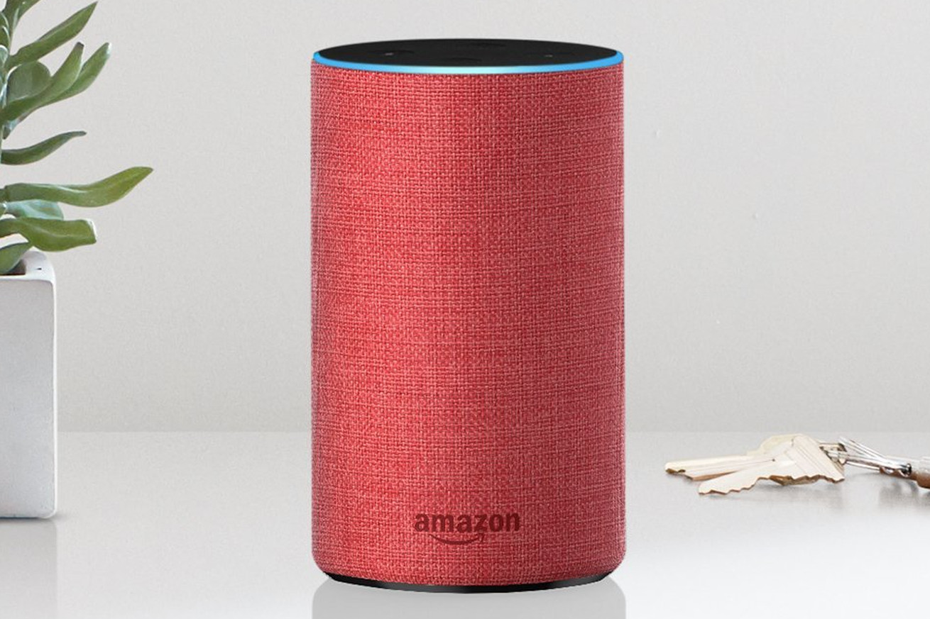 amazon made a red version of the second gen echo