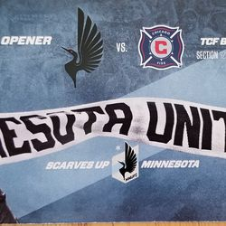 2018 Home Opener Ticket is a larger one separate from the booklet with it's own design