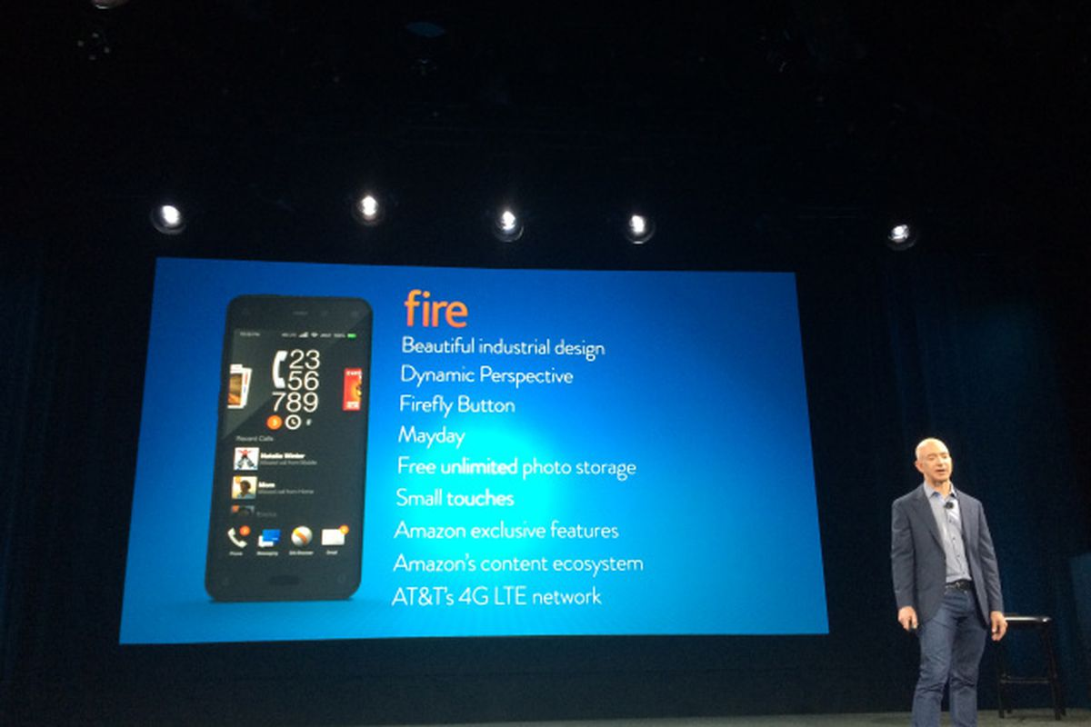 Amazon's Stock Fizzles After Fire Phone Pop