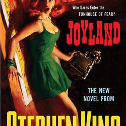 """Chelka Posladek, Bookseller at City Lit Books: """"My summer pick is <em>Joyland</em> by Stephen King.  The story centers on a college student who takes a summer job at an amusement park that may or may not be haunted. Part mystery, part coming-of-age, <em>J"""