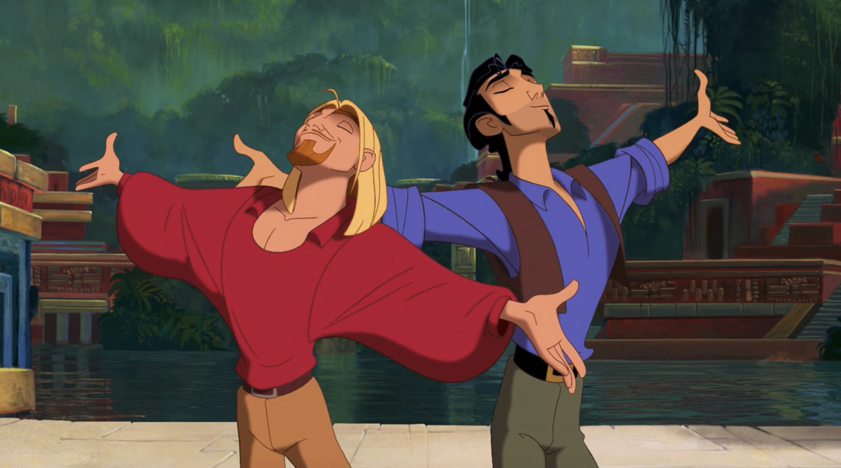 miguel and tulio, mighty and powerful gods