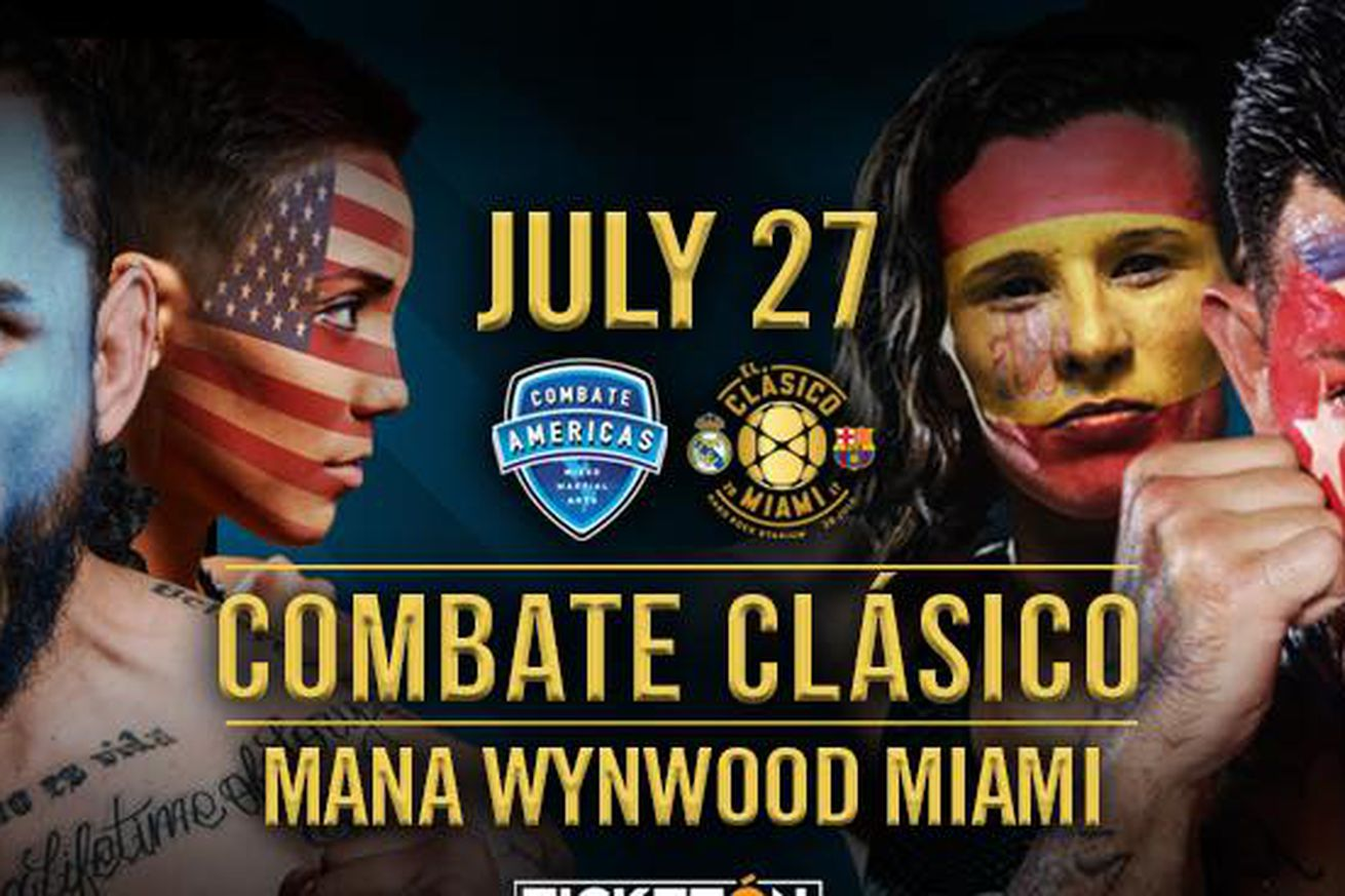 community news, Combate Americas changes the game (again), joins ESPN family for 'Combate Clasico' on July 27