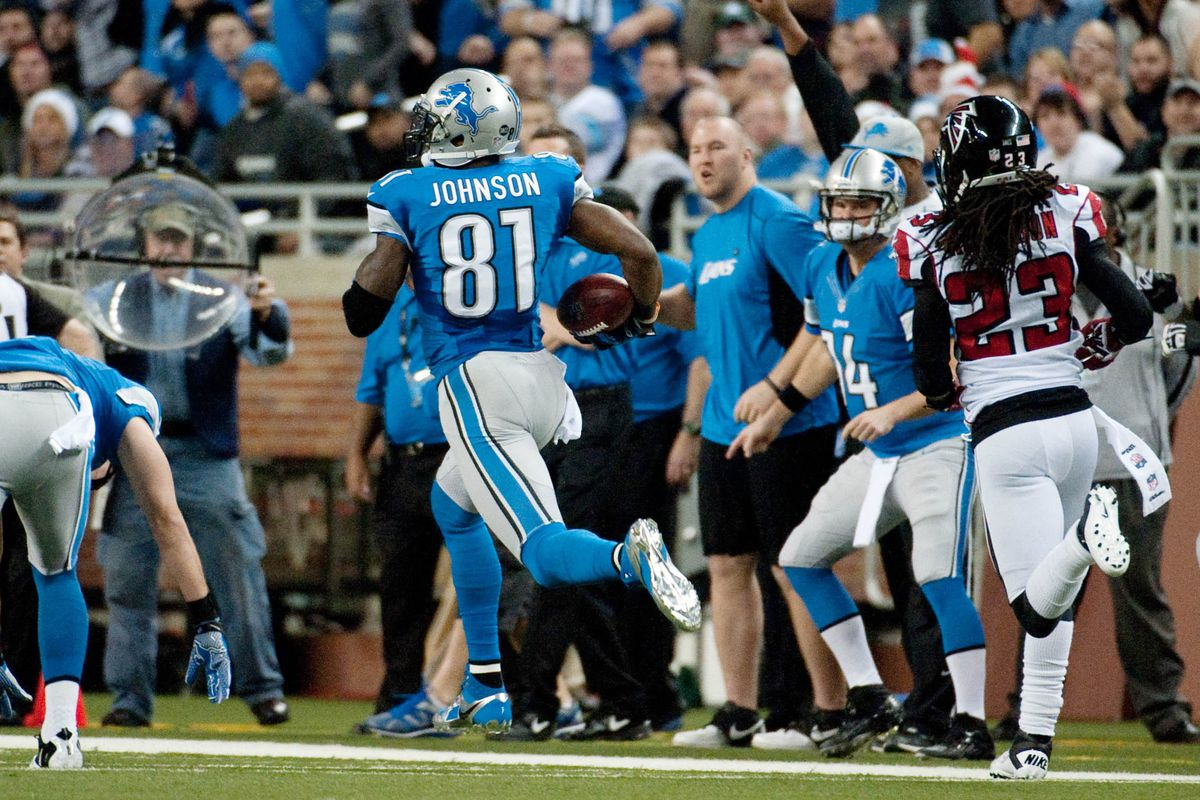 Megatron runs away from the competition in WR rankings.