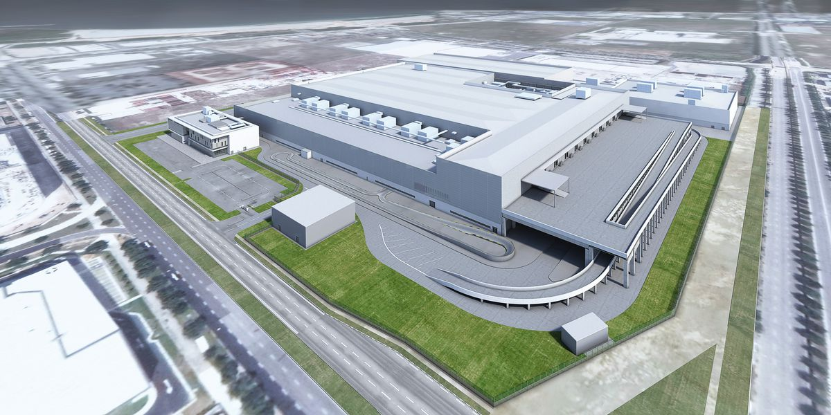 A Render Of The Planned Manufacturing Plant In Singapore Credit Dyson