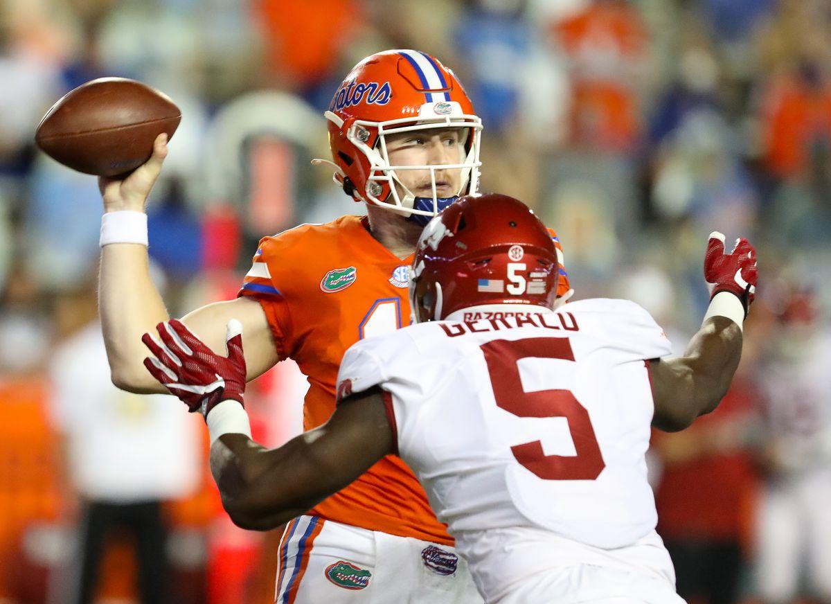 NCAA Football: Arkansas at Florida