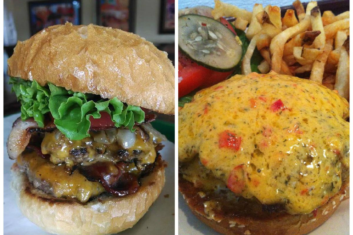 McClure's Barbecue and High Hat burgers.