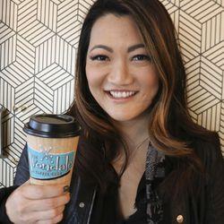 Ji Suk Yi at the Avondale Coffee Club in Avondale.   Brian Rich Sun-Times